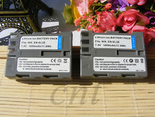 TWO EN-EL3E Li-ion Battery  for Nikon D80 D70 D100 D200 D300s Camera