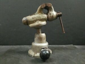 "Wilton Vise 2"" Baby Bullet Powrarm 820 Junior Ball Base Machinist Bench Vise USA"