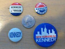 Rare Swainson/Kennedy/McNamara Pinback & Other Kennedy Pinbacks