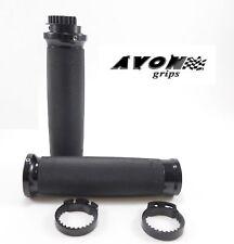 "Avon Custom Contour Motorcycle Grips 1"" Handlebar Metric Touring Suzuki"