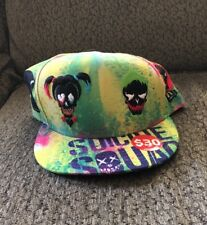Suicide Squad All Over Harley Quinn Joker New Era Cap Hat Size 8 New!!