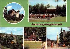 Johanngeorgenstadt Kr. Schwarzenberg DDR Mehrbild-AK ua. HO-Hotel Deutsches Haus
