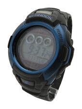 Casio G-Shock GWM500F-2 Tough Solar Digital Atomic World Time Black Blue Watch