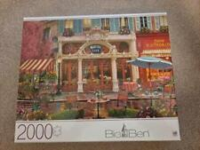 "Big Ben 2000 Piece Jigsaw Puzzle 'Majestic Cafe"" #6056423"