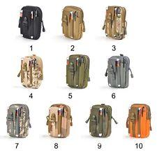 Men Casual Waterproof Waist Pack nylon Work Waist Bag Army Military Small Bags