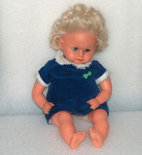 VINTAGE HEIKE MMM(3 M's) MAAR SOHN CRYING BABY DOLL, MADE IN GERMANY