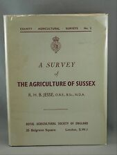 SURVEY OF THE AGRICULTURE OF SUSSEX Book #2 London RHB Jesse Illustrated Animals