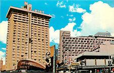 Las Vegas Nv Hotels Mint & Fremont Downtown Fremont Street Chrome Postcard