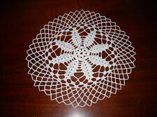 Beautiful NEW Hand Crocheted Doily Snowflake HI-172