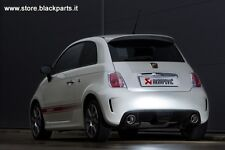 BLACK KIT GARA   500/595  ABARTH ! Compatibile con euro 6