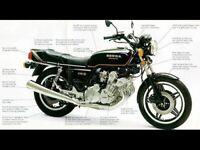 HONDA CBX1000A VINTAGE MOTORCYCLE MOTORBIKE POSTER BROCHURE ADVERT A3
