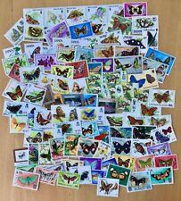 Commonwealth - Butterflies 100 UMM Stamps