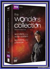 THE WONDERS COLLECTION - WONDERS OF THE UNIVERSE + SOLAR SYSTEM  *BRAND NEW DVD*
