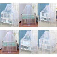 Baby Mosquito Net Foldable Lightweight Baby Cot Mesh Canopy Lace Mosquito Cover