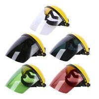 Gesichtsschutz mit Visier, Kunststoff Gesichtsschild Sicherheitsschilder für