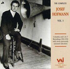 Josef Hofmann - Complete Josef Hofmann 3 [New CD]