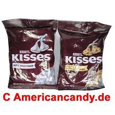 Leckere Hershey Küsschen: 2x 150g Pralinen Hershey's Kisses Amerika  (32,11€/kg)
