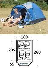 Kampa Brighton 2 berth man festival person tent