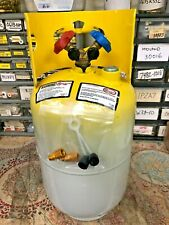 Refrigerant Recovery Tank Manchester 30 Lb Fresh Date Code Good For 410134a