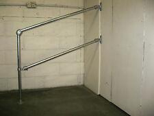 33.7mm double rail variable angle rampe main balustrade handrailing kit grab