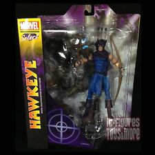 "Marvel Select HAWKEYE Classic Avengers 7"" Comic Book Action Figure DST IN STOCK!"