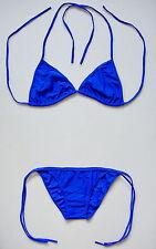 Sexy ROYAL BLUE NAVY BIKINI 2 Piece Swimming Costume Swimsuit Ladies Swimwear