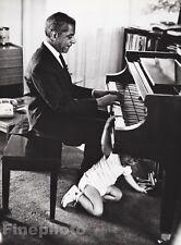 1960/87 Vintage 16x20 TEDDY WILSON Jazz Music Piano Photo Art By WILLIAM CLAXTON