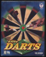 Elite Darts CD-ROM for Windows 95/98/Mac New in Sealed Box
