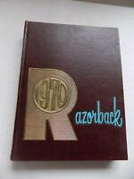 1970 RAZORBACK University of Arkansas Yearbook Annual