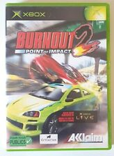 Burnout 2 Point Of Impact - Xbox - PAL - Complet