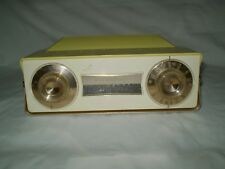 Westinghouse Cordless Transistor model H-622P6 Yellow & White Radio Works