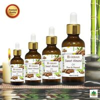 SWEET ALMOND OIL(Prunus dulcis) 100% NATURAL PURE CARRIER OILS 15ML TO 1000ML