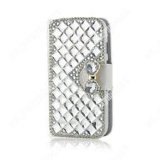 For iPhone 7 Plus 8plus 6s 5s Wallet Case Rhinestone Leather Phone Cases Cover