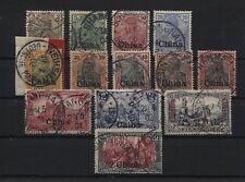 Deutsche Post in China 15-27 gestempelt 5 Werte BPP-geprüft (B05513)
