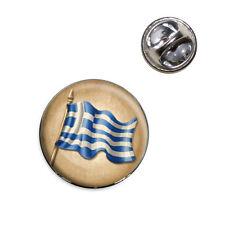 Vintage Greek Flag - Greece Lapel Hat Tie Pin Tack