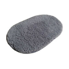 Teppich Rund Moderner Langflor Zottelteppich Hochflor Shaggy Badeteppich Oval