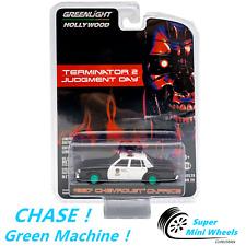 CHASE ! Green Machine 1:64 Terminator 1987 Chevrolet Caprice Metropolitan Police