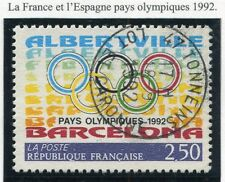 TIMBRE FRANCE OBLITERE N° 2760 ESPAGNE PAYS OLYMPIQUES / Photo non contractuelle