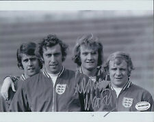 Rodney MARSH SIGNED Autograph ENGLAND Photo AFTAL COA USA Tampa Bay ROWDIES
