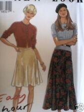 6454 Vintage NEW LOOK SEWING Pattern Misses Skirt 8 - 18 UNCUT FF OOP NEW SEW