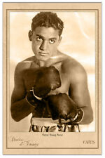 """VICTOR """"YOUNG"""" PEREZ Flyweight Boxing Champ 1931-32 Cabinet Card Vintage Photo"""