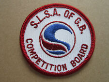 SLSA Surf Life Saving Competition Board Swimming Sport Cloth Patch Badge (L2K)