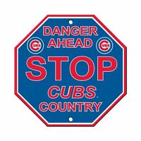 MLB Chicago Cubs Country Street Stop Sign