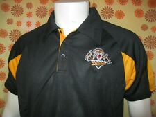 Ancien POLO MAILLOT RUGBY NRL WESTS TIGERS CAMPBELLTOWN TL Australie XIII League