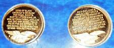 TWO RARE WITTNAUER MINT COINS; PRELUDE TO VICTORY & REVEREND MARTIN LUTHER KING