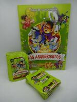 Rare los asquerositos + 100 sealed packs of stickers garbage pail kids peru 2004