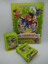 Rare los asquerositos + 100 sealed packs of stickers garbage pail kids peru 2004