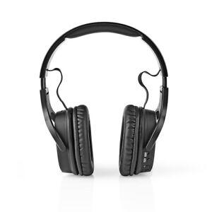 nedis Kabellose Kopfhörer DAB+/UKW/Bluetooth Over-Ear Faltbar Reise-Etui