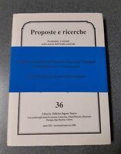 Proposte e ricerche e società nell'Italia centrala n. 36
