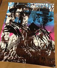 BLUE BROTHERS movie poster print Tim Doyle BlueTest Print Nakatomi Very Rare